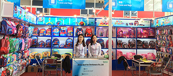2017-10-31 to 11-04 122nd Canton Fair-Bags booth